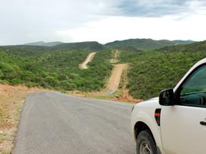 bergpas kaokoveld namibie