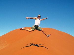 namibie sossusvlei jump