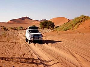 kampeerreizen namibie