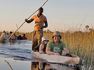 botswana mokoro varen