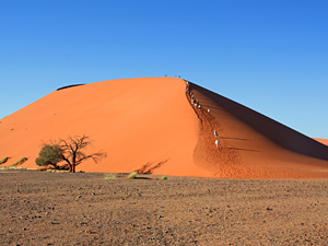 sossusvlei namibie reis