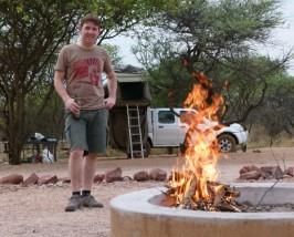wheeldrive kampvuur namibie