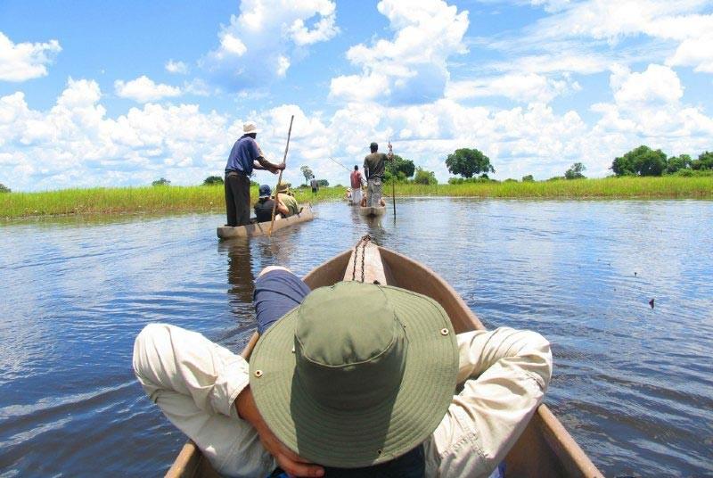 Botswana-reis-Okavango Delta