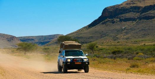 Namibie reizen - kampeerreizen