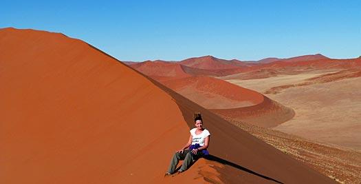 Zandduinen - Namibië vakantie