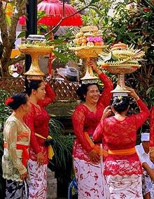 bali tempel ceremonie