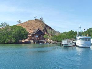 komodo eiland boot indonesie