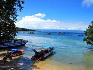Flipperen op Bunaken