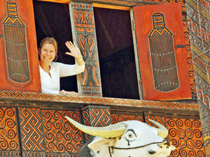 jeanette in sulawesi indonesie