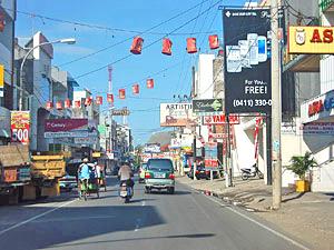 makassar straatbeeld indonesie