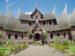 minangkabauer paleis indonesie