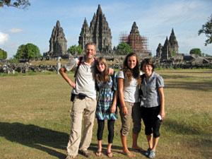 yogya familie indonesie