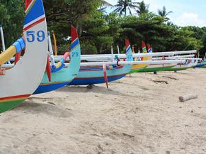 strand van sanur bali indonesie