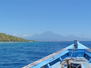 boot gili air indonesie