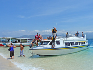 boot gili strand indonesie