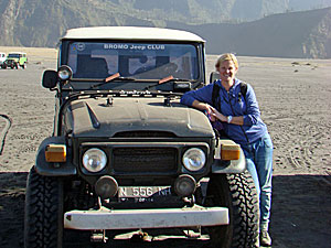 bromo jeep rondreis indonesie