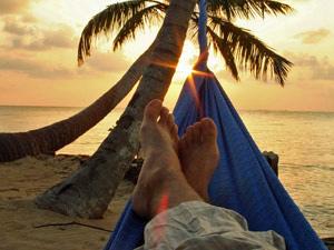 bunaken zonsondergang indonesie
