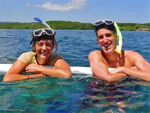 snorkelen in indonesie
