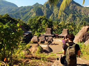 Flores traditioneel dorp
