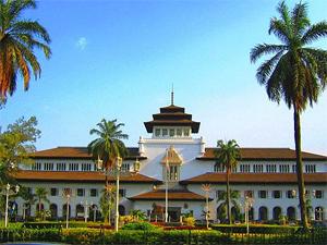 gemeente gebouw in bandung indonesie