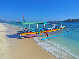 gili meno reis indonesie