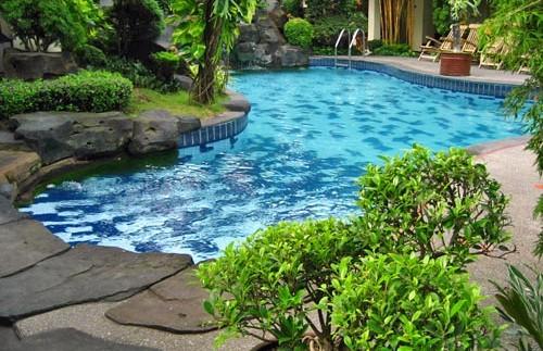 zwembad yogyakarta rondreis indonesie