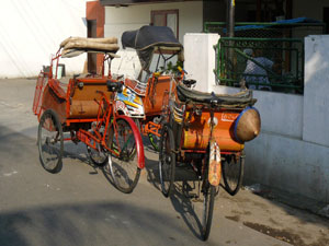 indonesie-becak