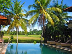 Hotel met zwembad in Indonesie