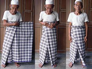 indonesie sarong knopen