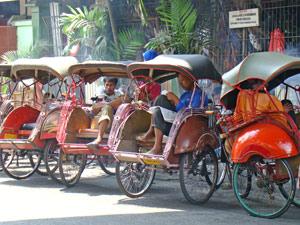 java becak bogor indonesie