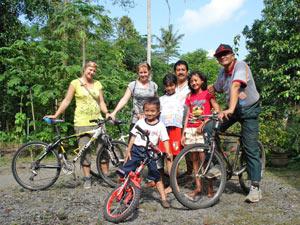 rondreis java bali fietsen indonesie