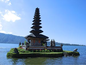 klimaat in indonesie tempel