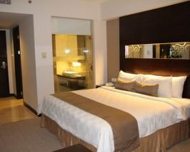 makassar hotel slaapkamer