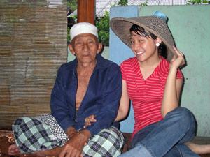 familie bezoeken reis indonesie