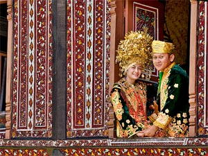 minangkabau west sumatra indonesie