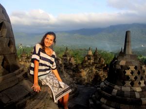 op reis in indonesie