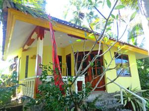Overnachten bungalow in Bali Indonesie