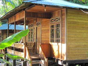 Eenvoudig overnachten in Bunaken Indonesie