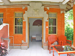 Eenvoudige homestay in Indonesie
