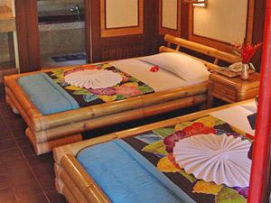 Slaapkamer eenvoudig overnachten Indonesie