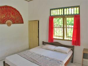 slaapkamer homestay Indonesie