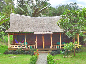 overnachten lodge Sumatra Indonesie
