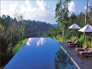 Ubud zwembad Indonesie