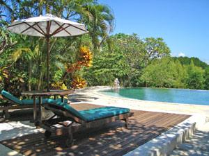 Overnachting met zwembad Indonesie
