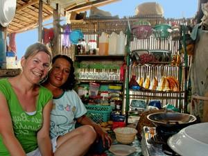 reis sulawesi drijvend dorp indonesie