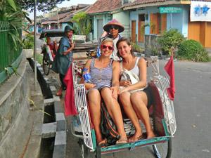 Strek je benen in Bogor