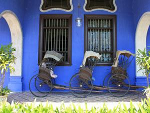 verantwoord reizen riksja indonesie