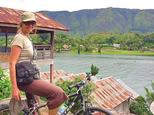 samosir fiets indonesie