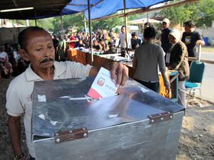 Verkiezingen Indonesië