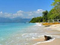 strand gili meno indonesie